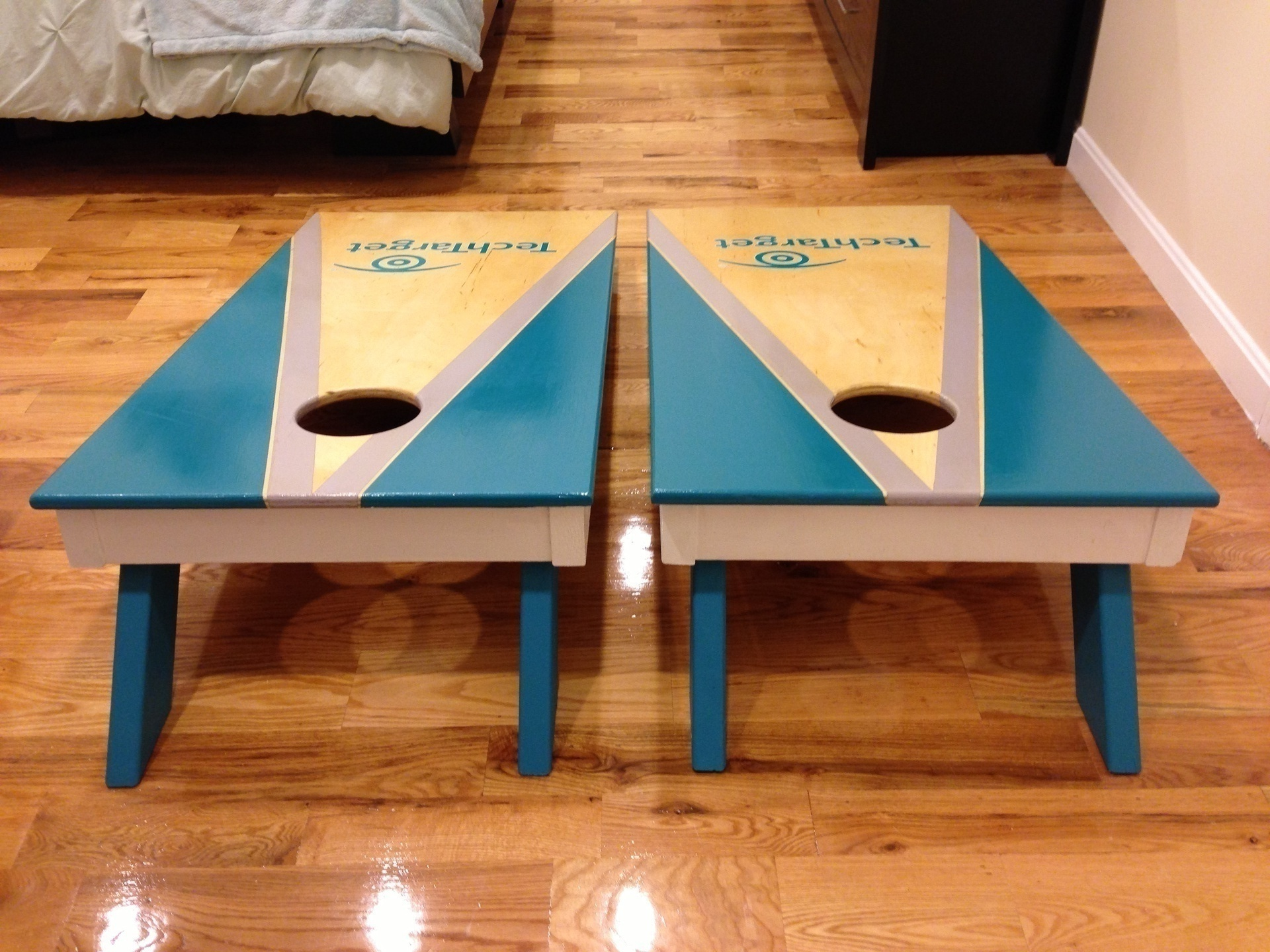 Cornhole Corporate Set