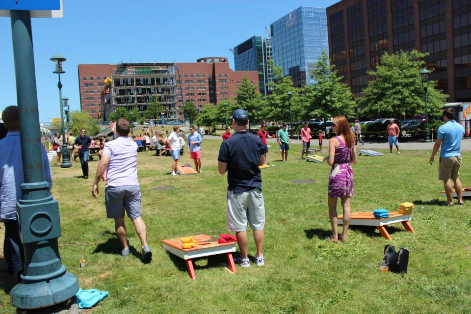 Cornhole Corporate Outing